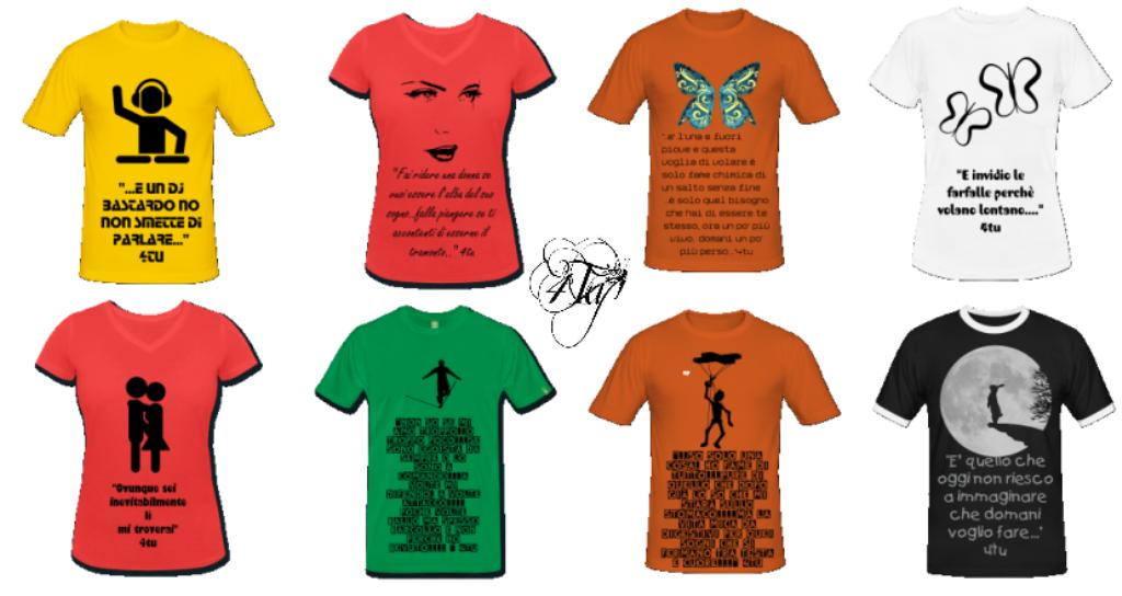 """Conosciuto Le solite 3 magliette"""" 4tu© (negozio online t-shirt personalizzate  MZ32"""