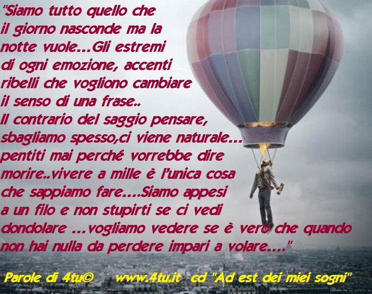 """Eccezionale Frasi, aforismi, poesie, canzoni, foto belle su """"volare"""" – poesie  NN58"""