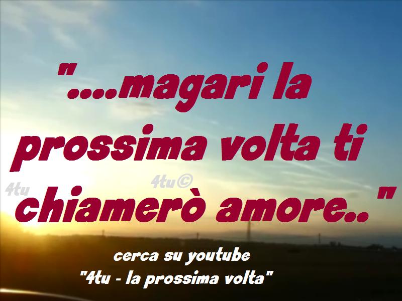 Canzoni Damore 2014 2015 4tu La Prossima Volta Le Più Belle