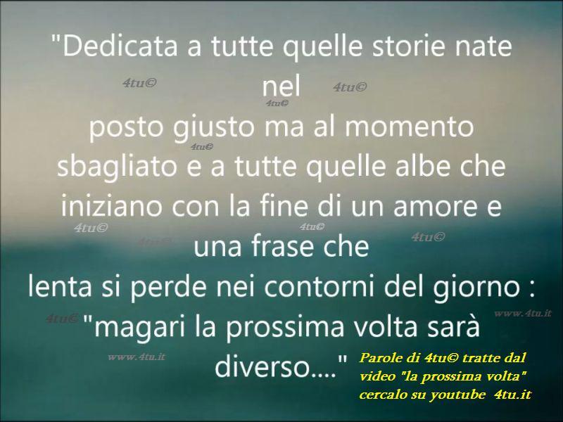 frasi d'amore youtube