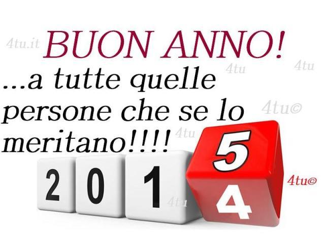 buon 2015, buon anno nuovo