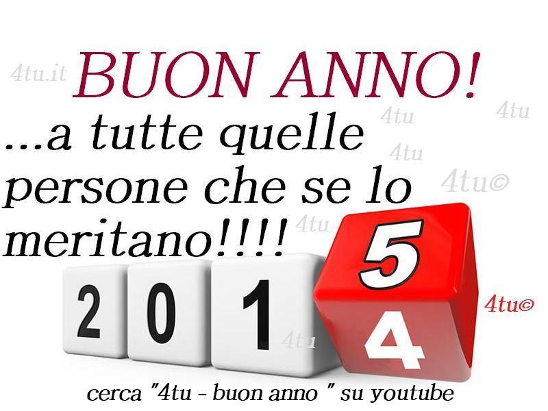 Youtube Frasi Auguri Di Natale.Buon Anno Nuovo Frasi Canzoni Citazioni Buon 2015 Immagini Frasi