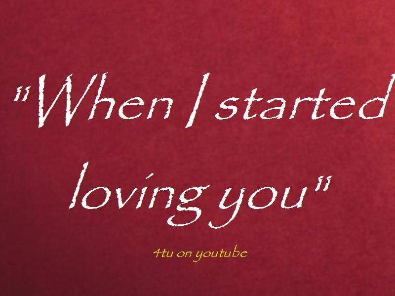 ... started loving you love quotes and sayings about life love tagalog