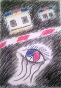attentato parigi disegno