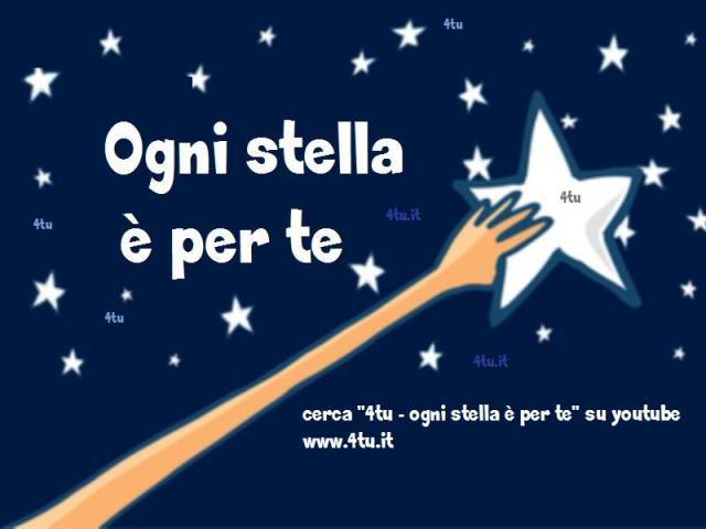 ogni stella è per te