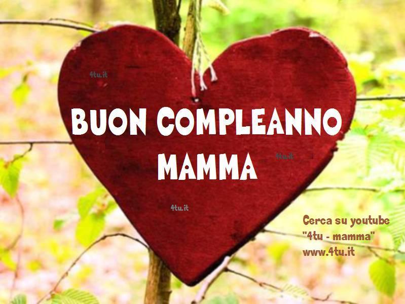 """Ben noto tanti auguri mamma!"""" : poesie d'amore per il compleanno della  QT09"""